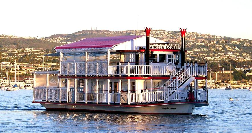 Riverboat Angela Louise For Yacht Weddings Riverboat Weddings Boat Weddings In Newport Beach